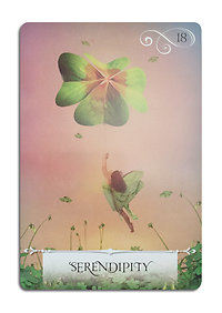 Oracle Card Readings. Serendipity