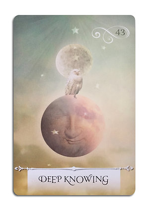 Oracle Card Readings. Deep Knowing